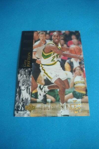 GARY PAYTON 1993 94 UPPER DECK BASKETBALL ELECTRIC GOLD PARALLEL #131 $13.95