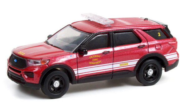 GREENLIGHT DETROIT FIRE DEPARTMENT 2020 FORD INTERCEPTOR EXPLORER *PRESALE*