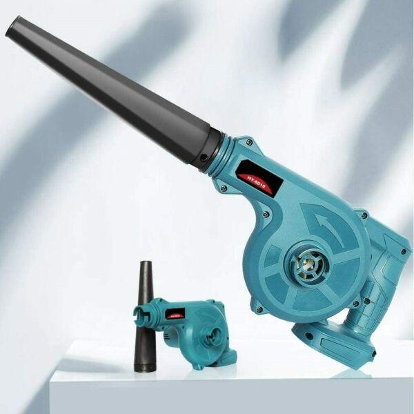 Amityke Rechargeable Blower Makita 18V Battery Dedicated Cordless Blower Air
