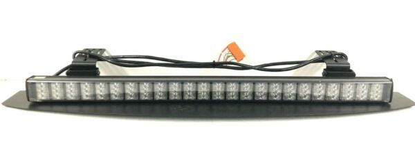 36quot; Federal Signal Cuda Trioptic Signalmaster LED AMBER Lightbar 328823 Traffic