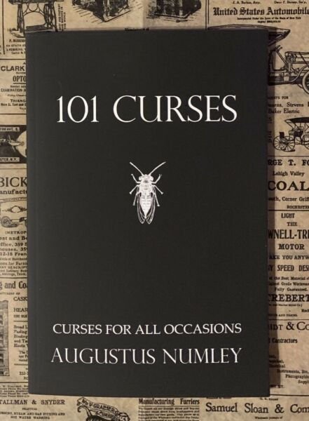 101 Curses SIGNED by Augustus Numley Occult book Black Magick Witchcraft Voodoo $12.95