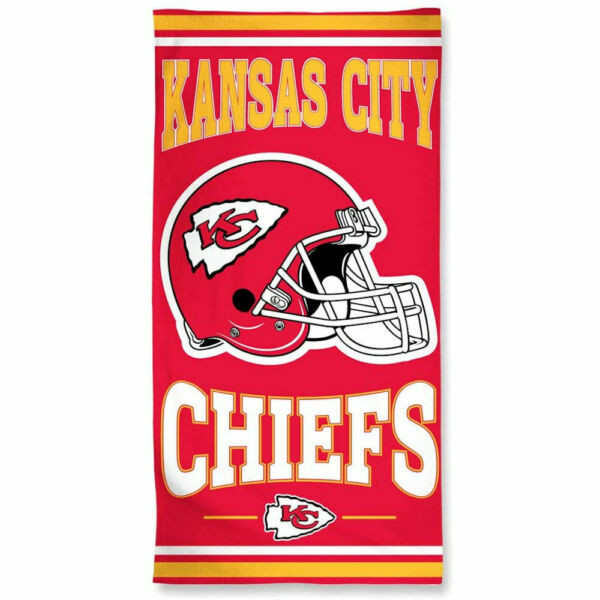 Officially Licensed NFL Kansas City Chiefs Beach Towel 30quot; x 60quot;