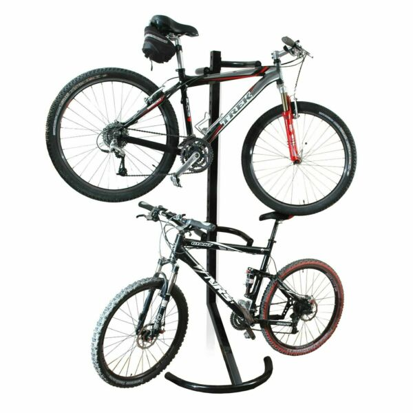 RAD Cycle Gravity Bike Stand Bicycle Rack Storage or Display Holds Two Bicycles $59.99