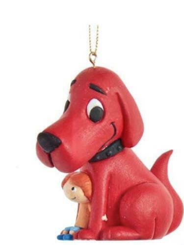 CLIFFORD THE BIG RED DOG CHRISTMAS ORNAMENT #2 NEW WITH TAGS $6.99