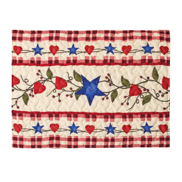 Country Star Colorful Patchwork Pillow Sham Cover $9.99