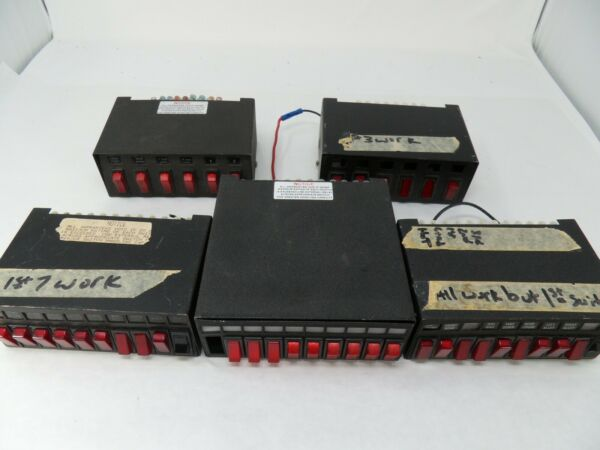 5 Whelen Power Control Switch Box For Parts inv#10