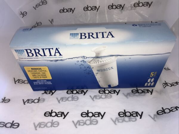 Brita Pitcher Replacement Filters 5 Pack of filters