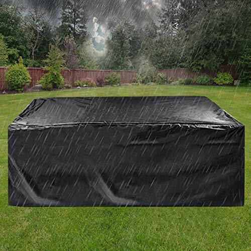 Patio Furniture Cover Super Large Outdoor Sectional Furniture Set Cover Table