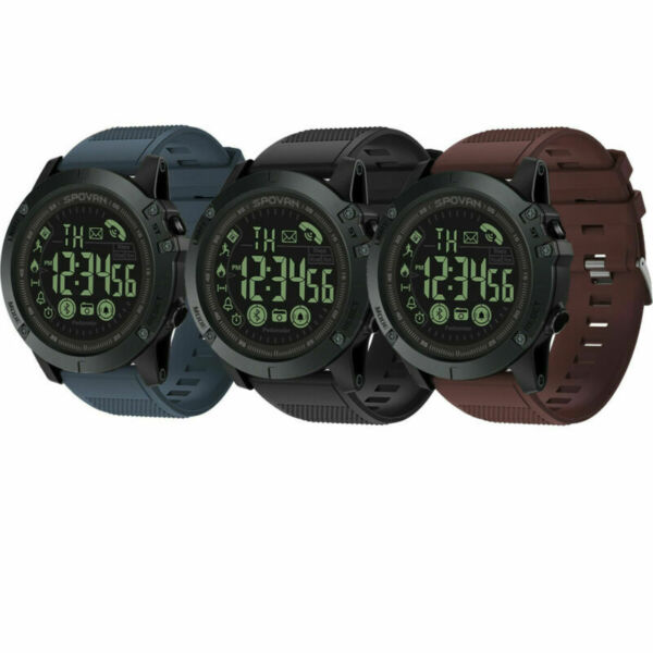 Waterproof Bluetooth Smart Sports Watch Military for Android iOS SAMSUNG HUAWEI