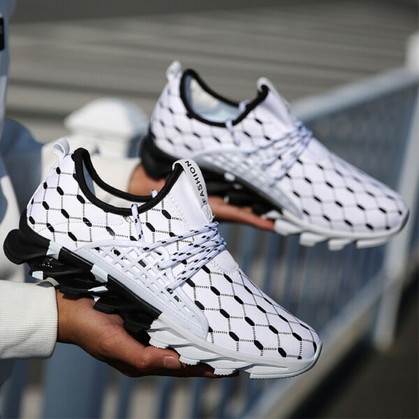 Non slip Breathable Women#x27;s Fashion Sneakers Running Walking Tennis Shoes Gym $27.99