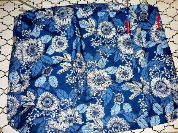 1 Blue Sunflower Porch Shield Fade Resistant Outdoor Cushion Cover 22x20x4 $16.97