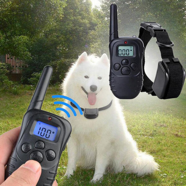 LCD Remote Electric Dog Training Shock Collar Waterproof Pet Trainer US SELLER
