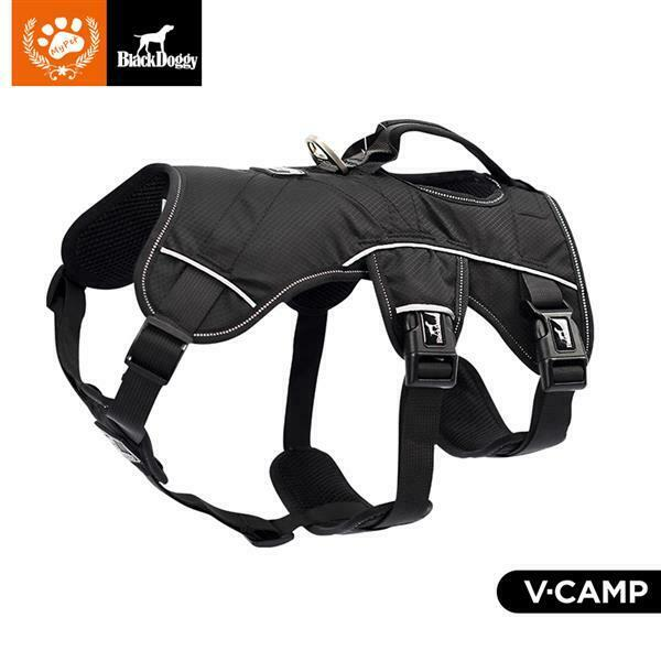 Medium and large dog chest harness (black size S) $23.99