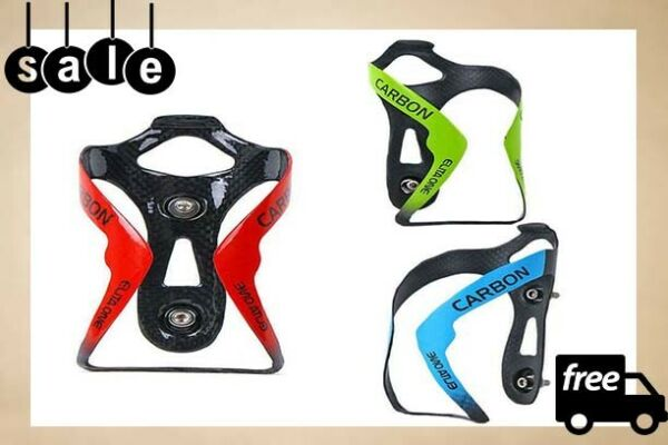 Bicycle Bottle Holder Bike Water Cage Cycling Mountain Rack Aluminum Adjustable $19.99