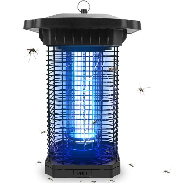 Outdoor IPX4 Electric UV Bug Zapper Mosquito Fly Gnat amp; Flying Insect Killer $49.99