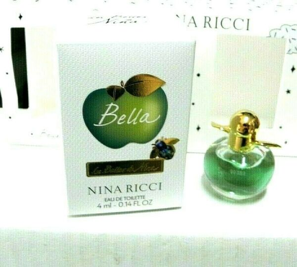 NINA RICCI BELLA 4 ML EDT POUCH GR8 COLLECTIBLE AND TRAVELER BEST BUYZ
