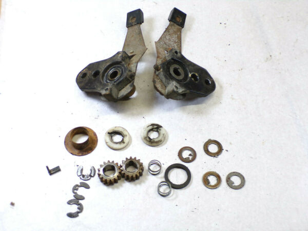 TORO Model 20470 Lawn Mower Used OEM Rear Drive Assembly Parts As Pictured