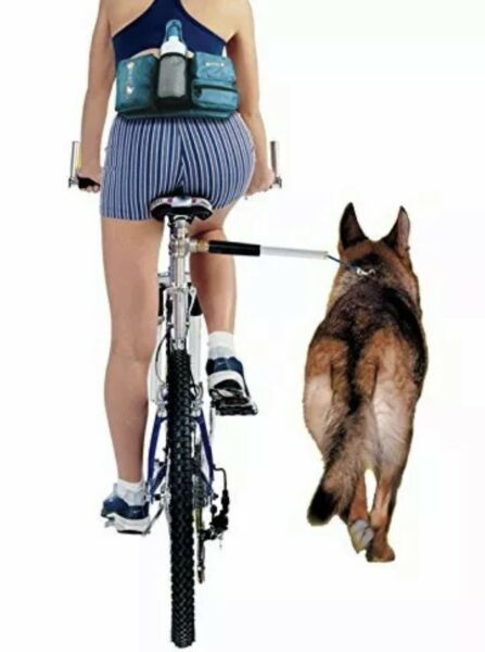 Walky Dog Biking Hands Free Leash Suitable for All Bikes New $39.95