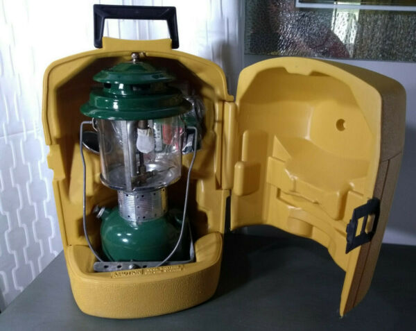Coleman 220F Lantern in Clam shell Case with Spare Parts Date on Bottom 72 $115.00