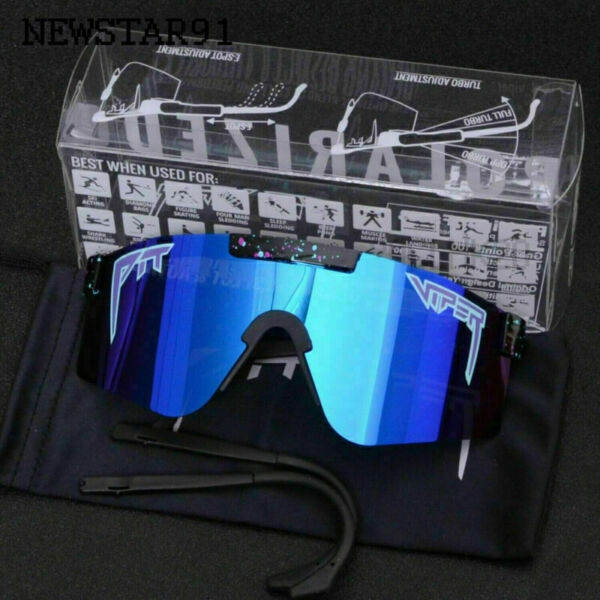 Original Pit Viper Sport Goggles Mens Women Outdoor Polarized Sunglasses Glasses