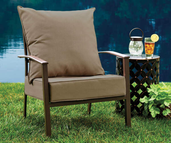 Real Living Linen Deep Seat Outdoor Cushion Set $23.00