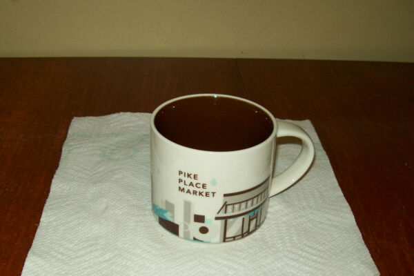 Starbucks Pike Place Market 2014 Mug You are Here Collection near mint