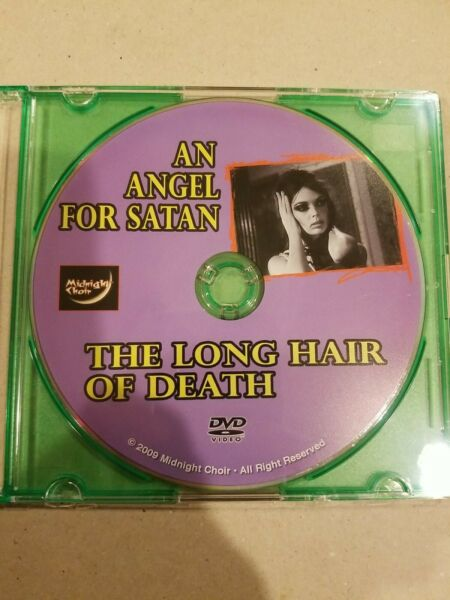 An Angel For Satan The Long Hair Of Death EXTREMELY RARE DISC ONLY DVD 2009 $99.99