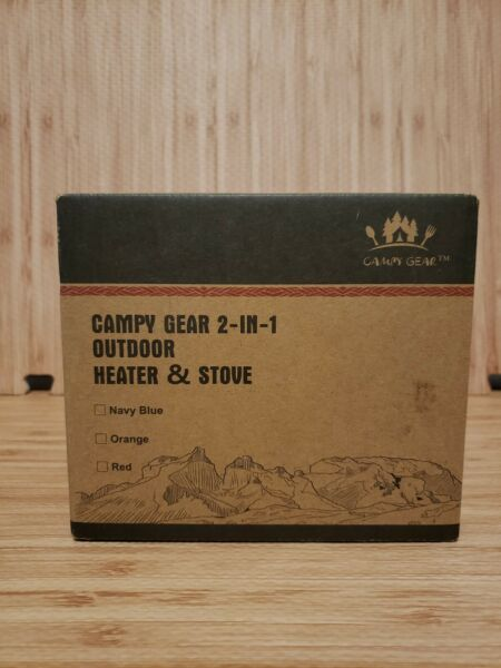 Campy 2 In 1 Heater amp; Stove $72.00