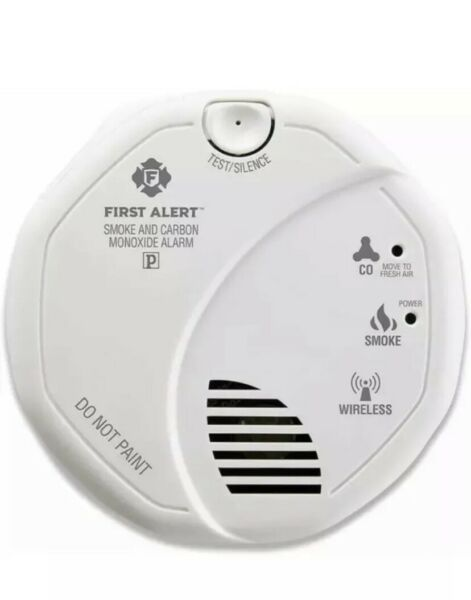 First Alert Powered Alarm SCO501CN Combination Smoke and Carbon Monoxide Battery $29.99