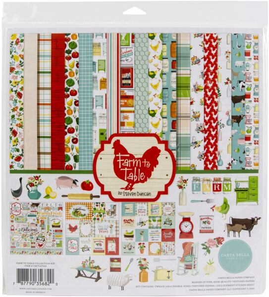 Carta Bella Collection Kit 12quot;X12quot; Farm To Table