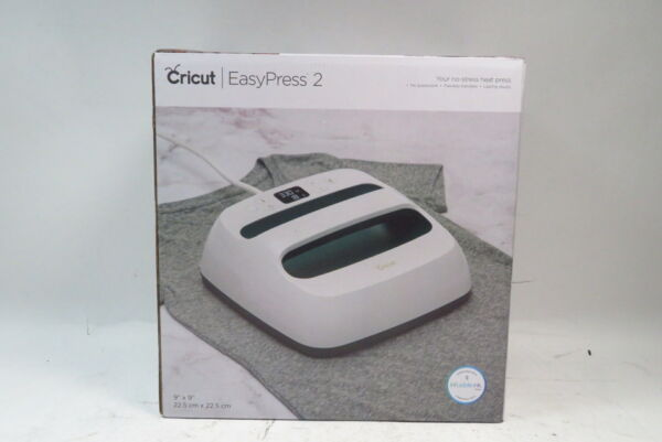 Cricut EasyPress 2 Heat Press Machine For T Shirts and HTV Vinyl Projects $139.99