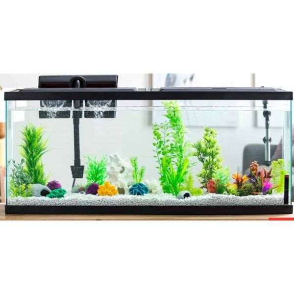 LED Tank Lid Aqua Culture 20 55 Gallon Fish Tank Hood with LED Light $53.12