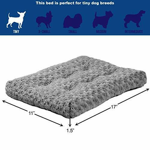 NEW MidWest Homes for Pets Deluxe Pet Beds Super Plush Dog amp; Cat 18 Inch Gray $15.94