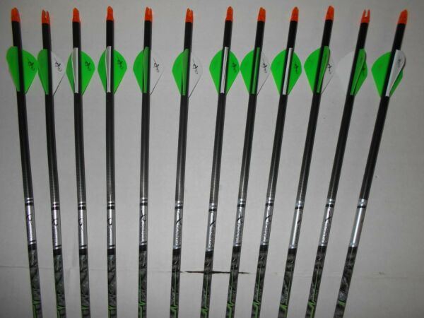 @NEW@ 12 Carbon Express Adrenaline 350 Archery Arrows WILL CUT TO LENGTH 1dz $59.99