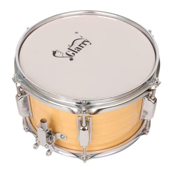 New 10 x 6quot; Snare Drum Poplar Wood Drum 6 Tuning Lugs Wood Color