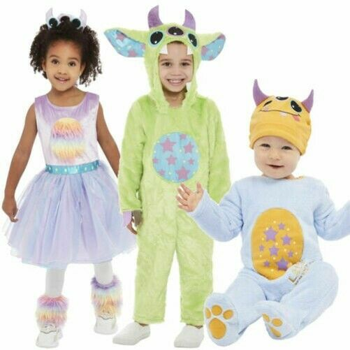 Monster Costumes Boys Girls Toddlers Babies Halloween Monster Outfit $44.15