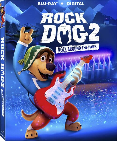 Rock Dog 2 Rock Around The Park Blu ray 2021 BLU RAY and Slip Cover $12.95