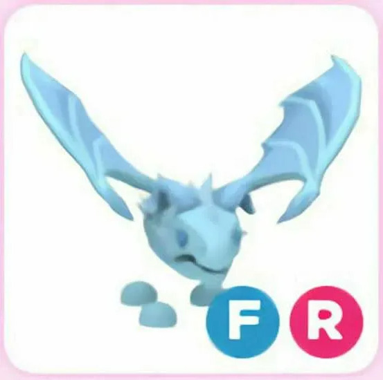 FR Frost Dragon Adopt Me Fly Ride Fast Delivery $23.99