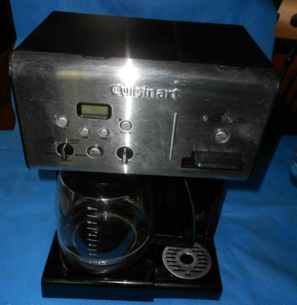 Cuisinart 14 Cup Coffee Maker With Hot Water Option Works Fine Ready to Brew