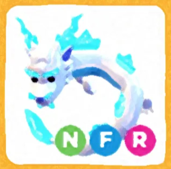 NFR Frost Fury Adopt Me Neon Fly Ride Fast Delivery $13.99