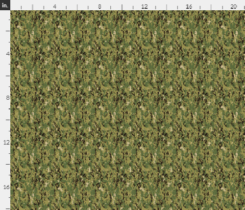 1 6th Scale Navy Woodland Camo AOR 2 Lighter Colorway Camo Material 18quot; x 14quot;