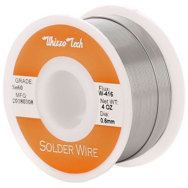 60 40 Tin Rosin Core Solder Wire For Electrical Soldering Sn60 Flux 0.8mm 100g