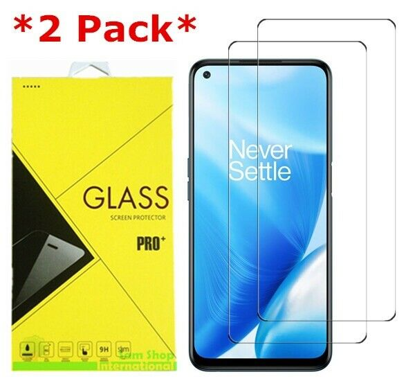 2Pack Premium Real Tempered Glass Screen Protector For OnePlus Nord N200 5G