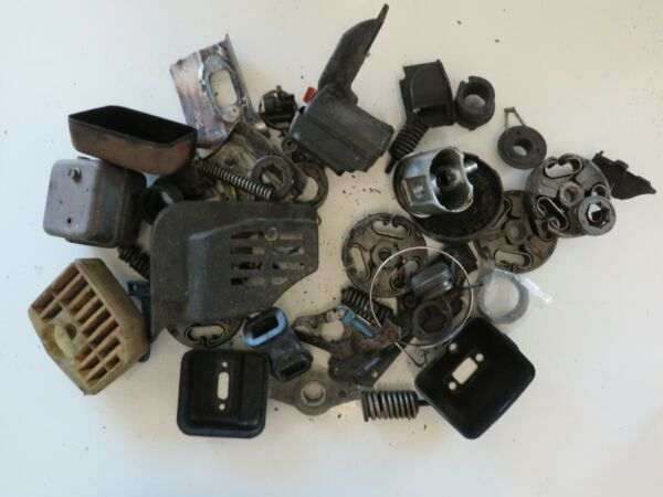 Vintage NOS and used Large Lot Of Chainsaw and Small engine Parts $19.27