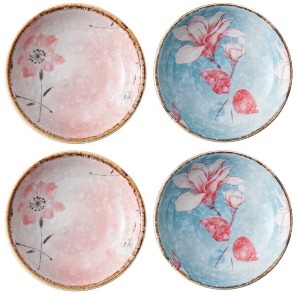 4pcs Decorative Lovely Ceramic Dishes Sauce Dishes for Kitchen Restaurant $25.62