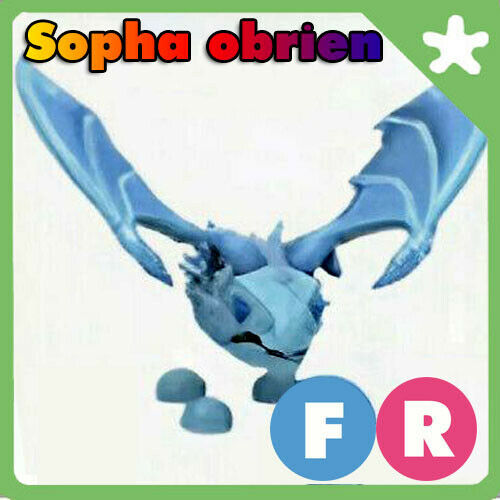 FR Frost Dragon Fly Ride Adopt Me Pet *FAST DELIVERY* $27.98
