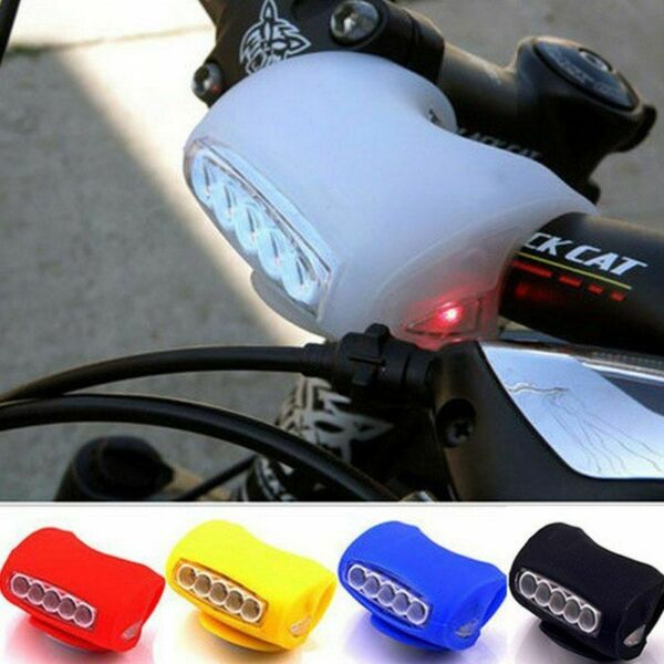 LED Bicycle Lamp Front Headlights Cycling Safety Warning Lights Bike Accessories $9.26