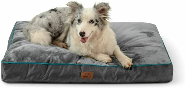 Bedsure Waterproof Dog Beds for Large Dogs Up to 75lbs Large Dog NEW FREE SHIP $33.99
