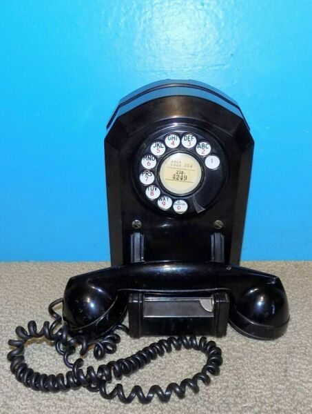 Automatic Electric Model 50 Wall Mount Telephone Free Shipping $93.46