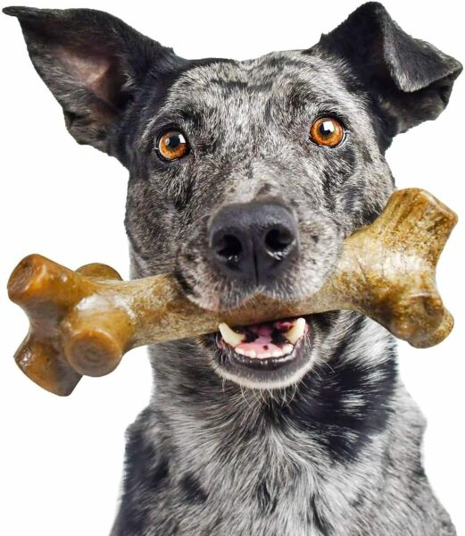 Dog Chew Toys for Aggressive Chewers Indestructible Dog Toys Cleaning Teeth Bone $12.89